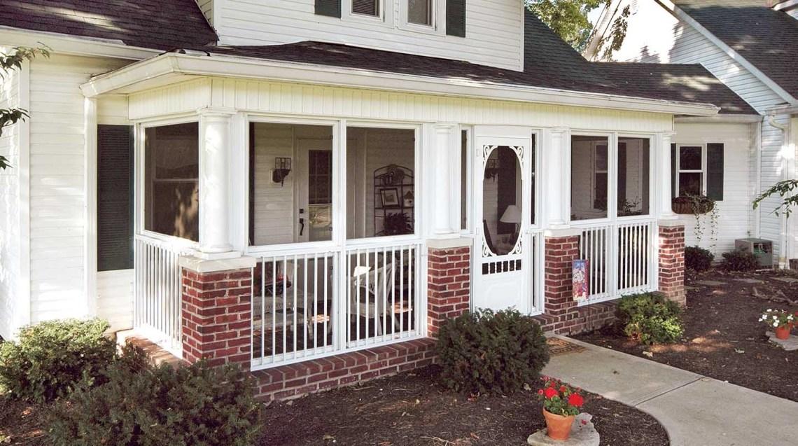 Front Enclosed Porch Ideas Randolph Indoor And Outdoor