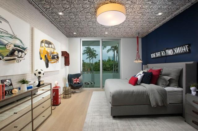 Fun Room Ideas Modern And Mature Boys Bedroom Design