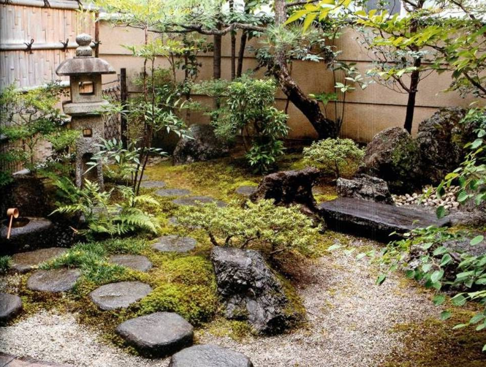 Garden And Lawn Best Courtyard Garden Designs Japanese