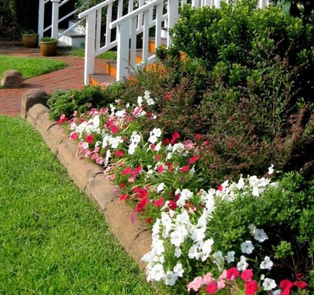 Garden Bed Borders Edging Ideas Vegetable Flower