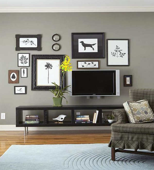 Give Your Wall Decor Meaning Decor Around Tv Tv Decor