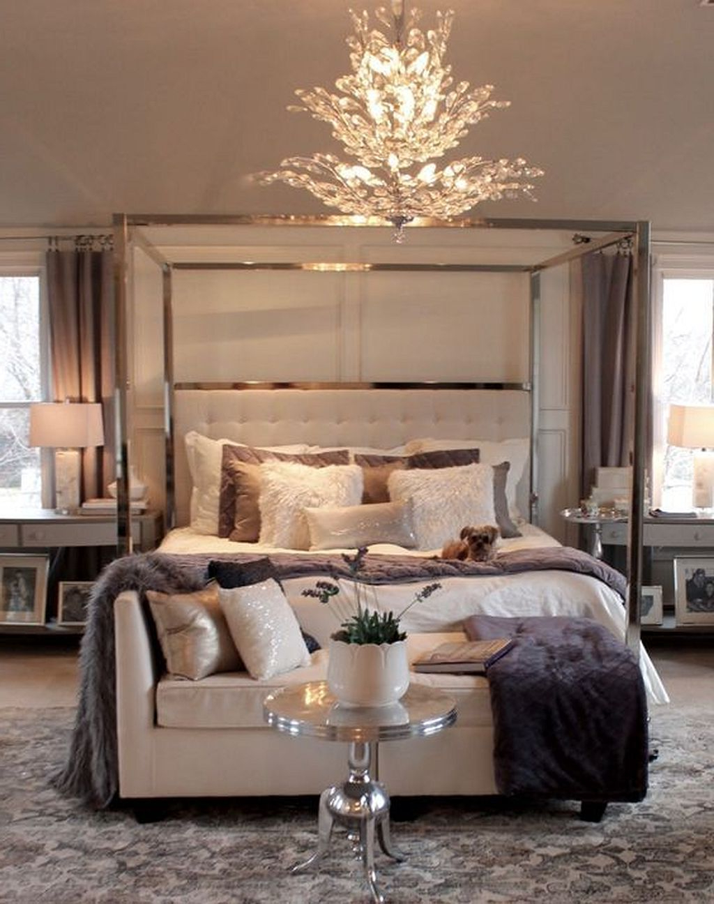 Gorgeous 20 Elegant Master Bedroom Decorating Ideas Https