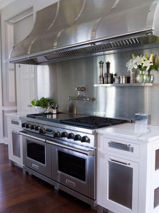 Gorgeous Kitchen Amazing Stainless Steel Range Double