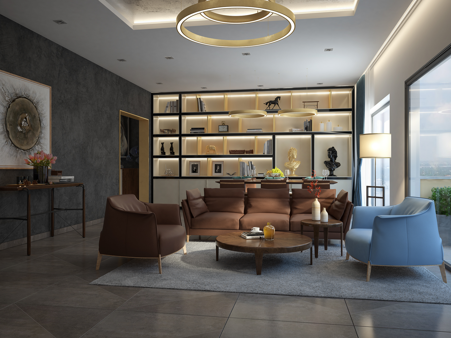 Gorgeous Living Room Designs With A Luxury And Modern Interior