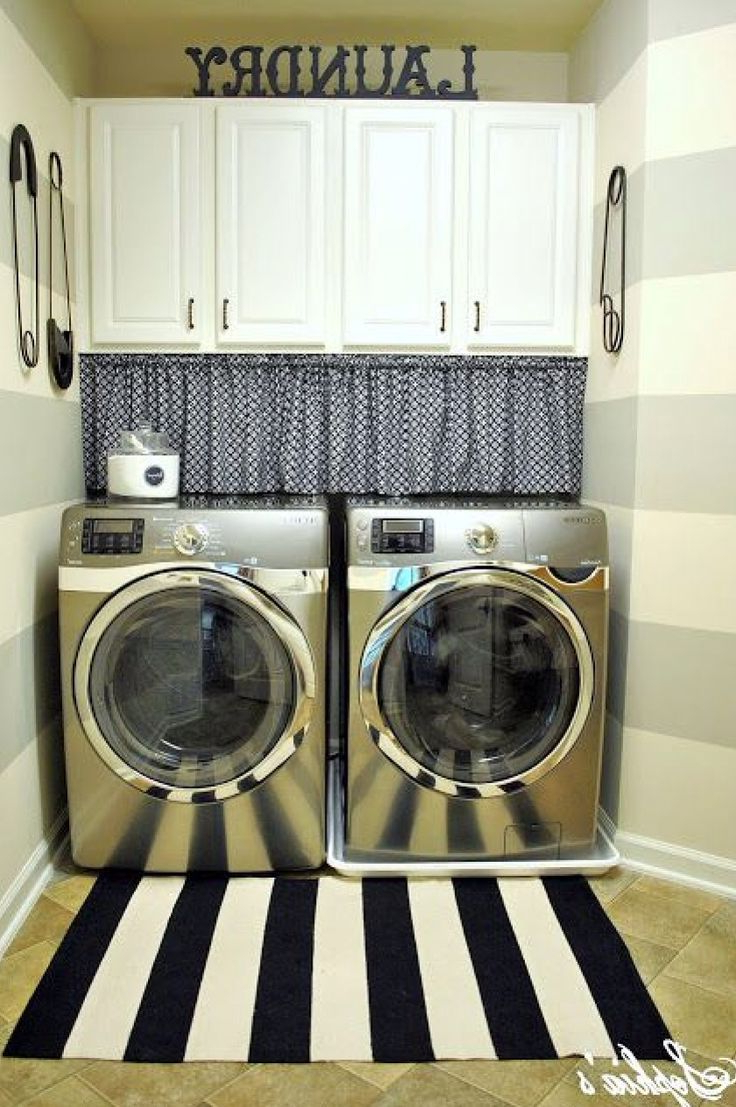 Great Way To Hide The Gap Between The Washerdryer And