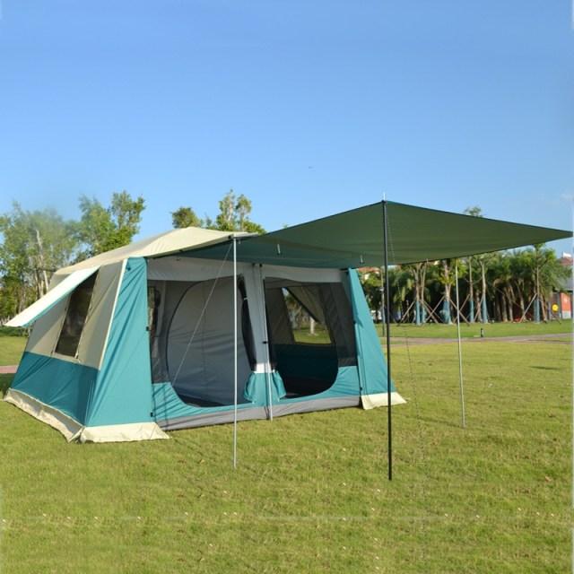 Grntamn Waterproof Outdoor Large Camping Tent Tarpaulin Wideproof Luxury 210d Oxford Houses