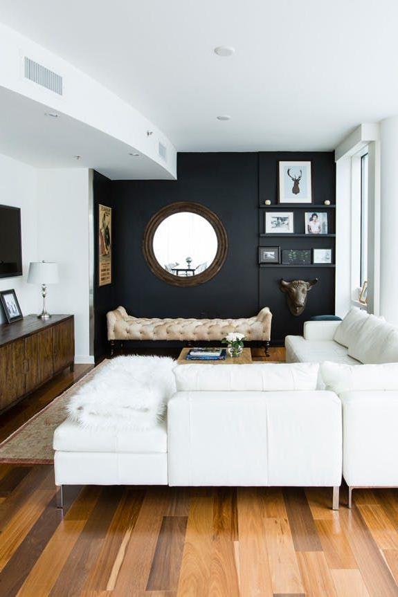 High Contrast A Design Trick That Makes Small Spaces Seem