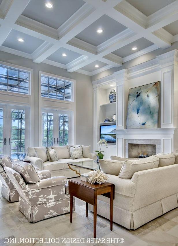 House Plan The Belcourt Living Room L Sater Design