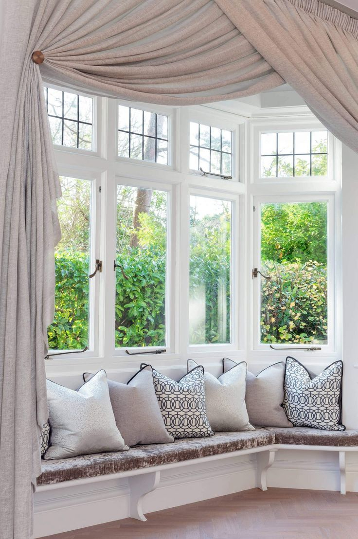How To Choose The Best Curtains For Your Bay Windows