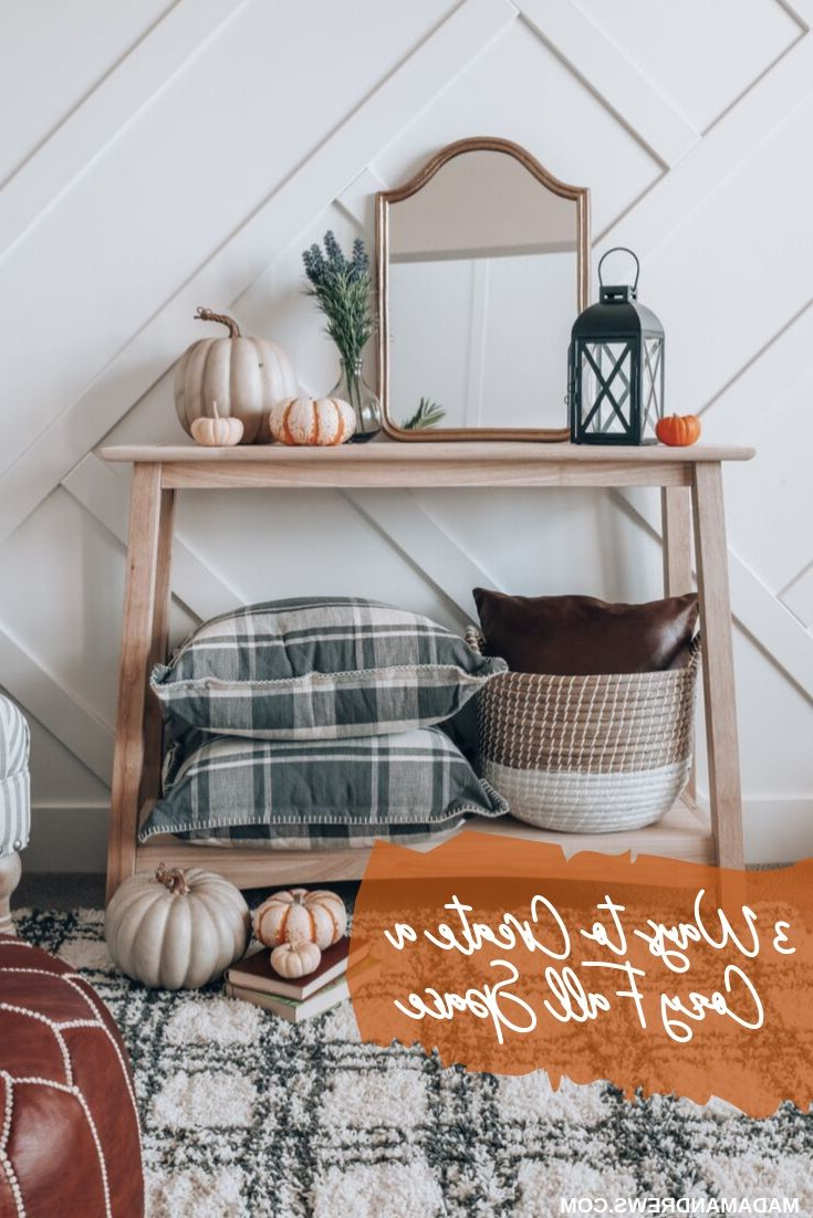 How To Create A Cozy Space With Your Fall Decor Decor
