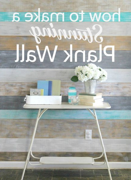 How To Make A Stunning Diy Plank Wall Lovely Etc