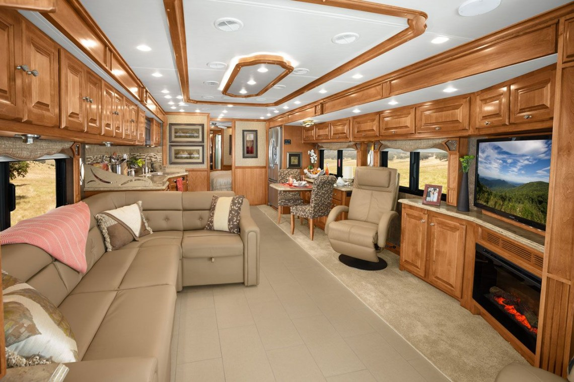 Httpwwwtiffinmotorhomesphaeton Rvs Interior Rv