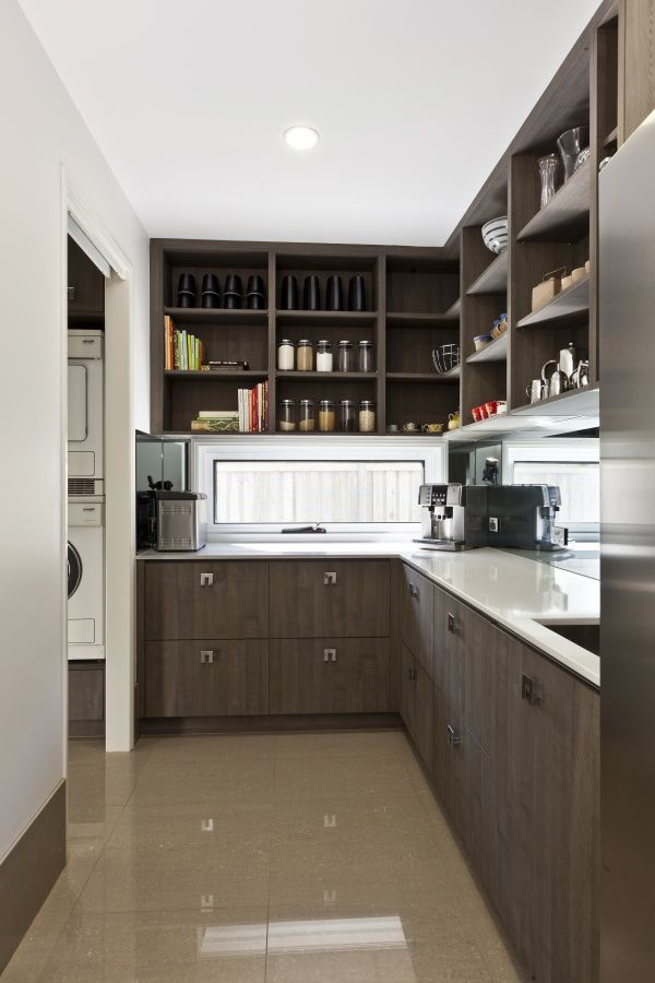 I Do Not Favor The Modern Look Of This Pantry But It Has