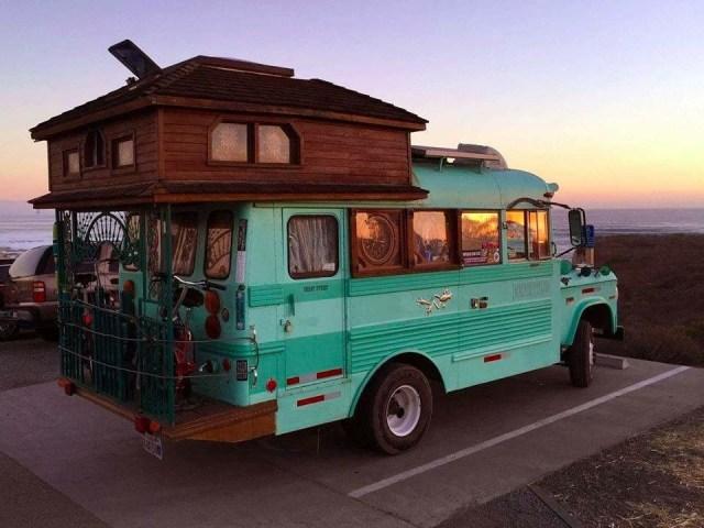 Idea Adam Morse On Travel Homemade Camper Bus Living