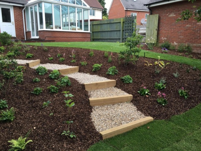 Ideas Para Jardines Inclinados Que Convierten La Pendiente