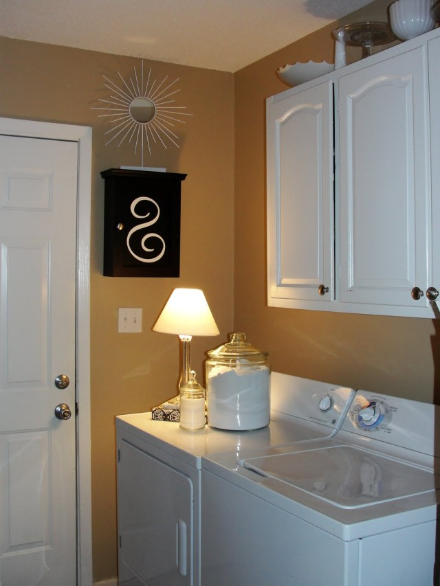 Imperfectly Beautiful Laundry Room Mini Makeover