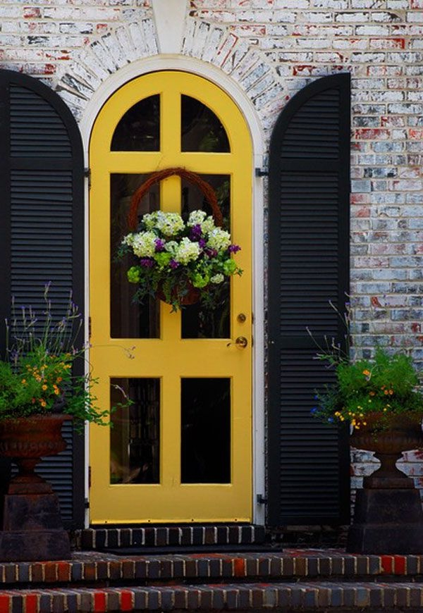 Impressive Front Door Plant Decor Ideas Outdoortheme
