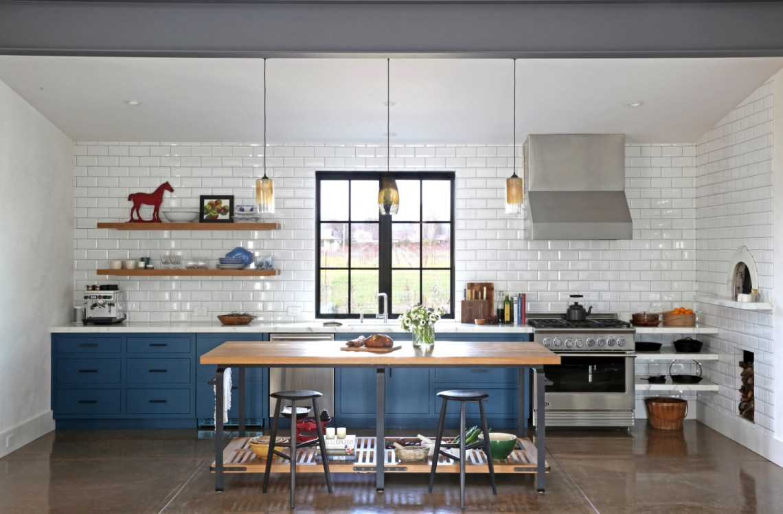 In California Wine Country A Modern Farmhouse For A Brit And A Texan Remodelista
