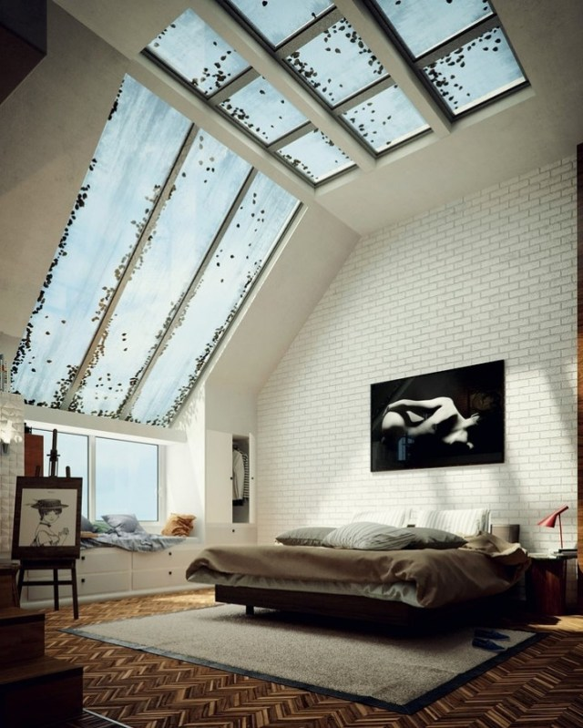 Interesting And Appealing Interior Designs Featuring Roof