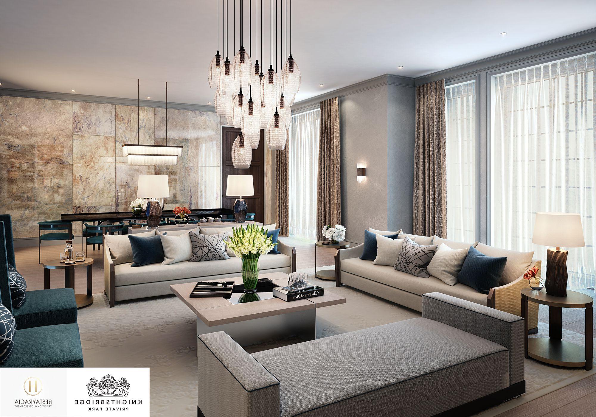 Interior Design Focus Knightsbridge Private Park Moscow
