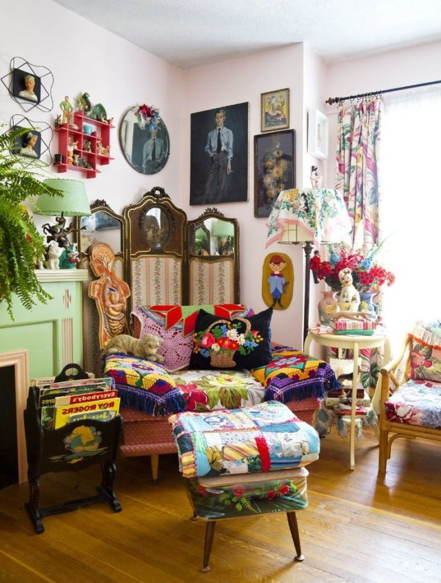 Ive Died And Gone To Eclectic Heaven Retro Home Decor
