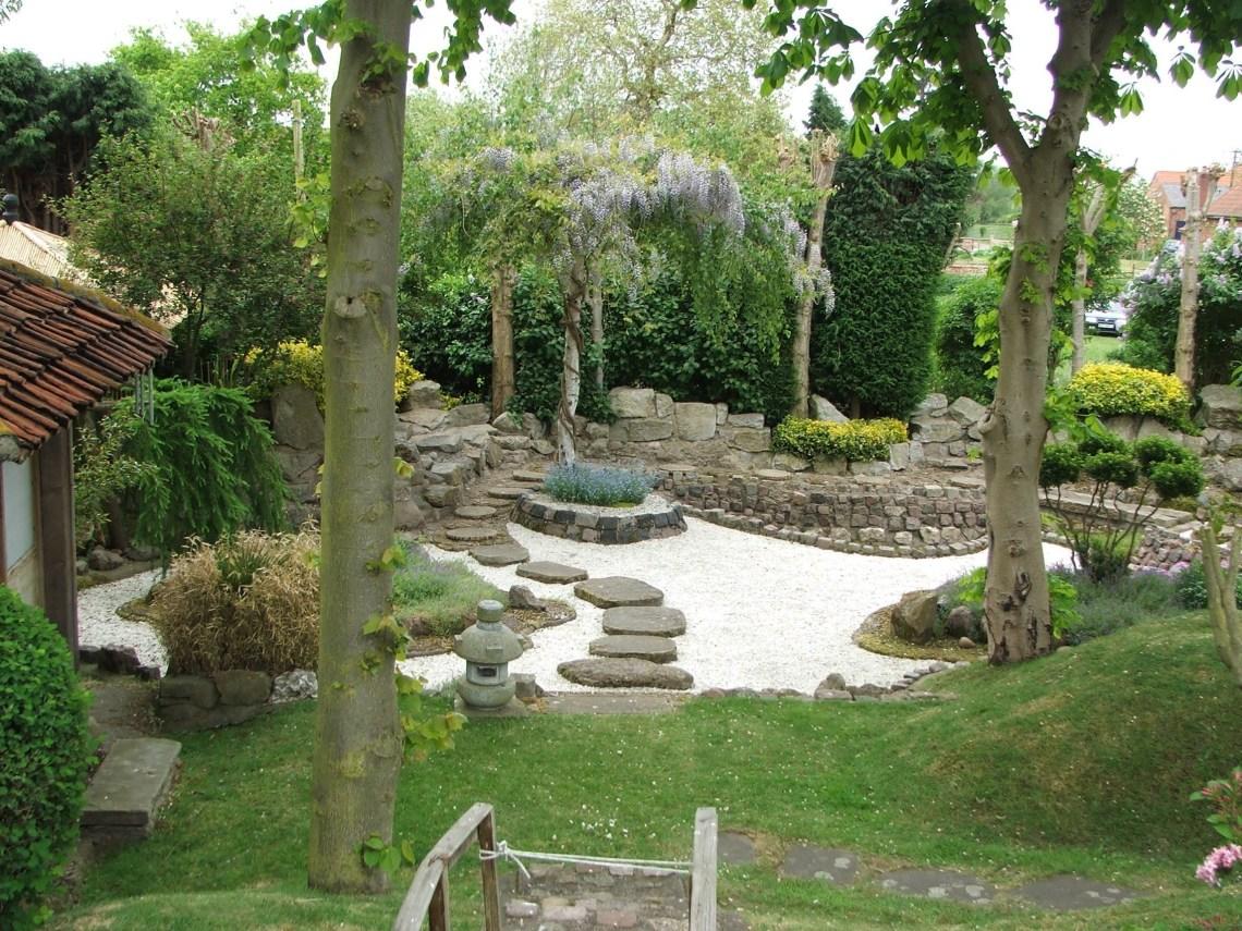Japanese Zen Garden Design Photograph Japanese Gardens 1