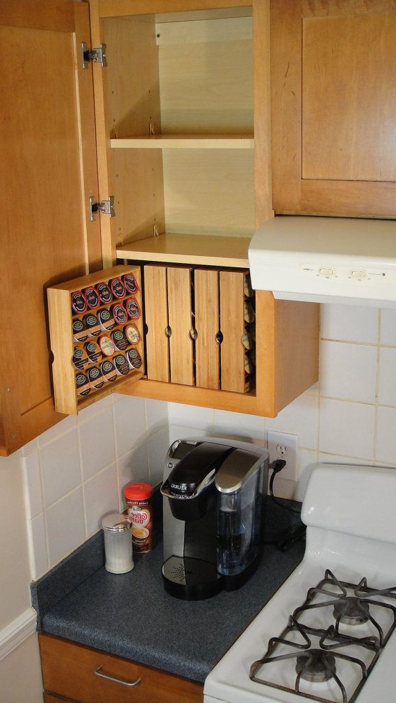 K Cup Storage For Kitchen Cabinets Right Hand Opening