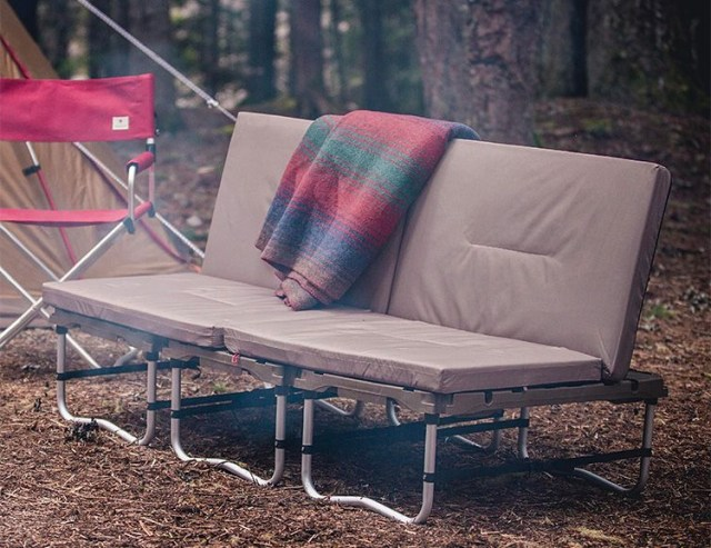 Kick Back Chill On Snow Peaks Camp Couch Camping
