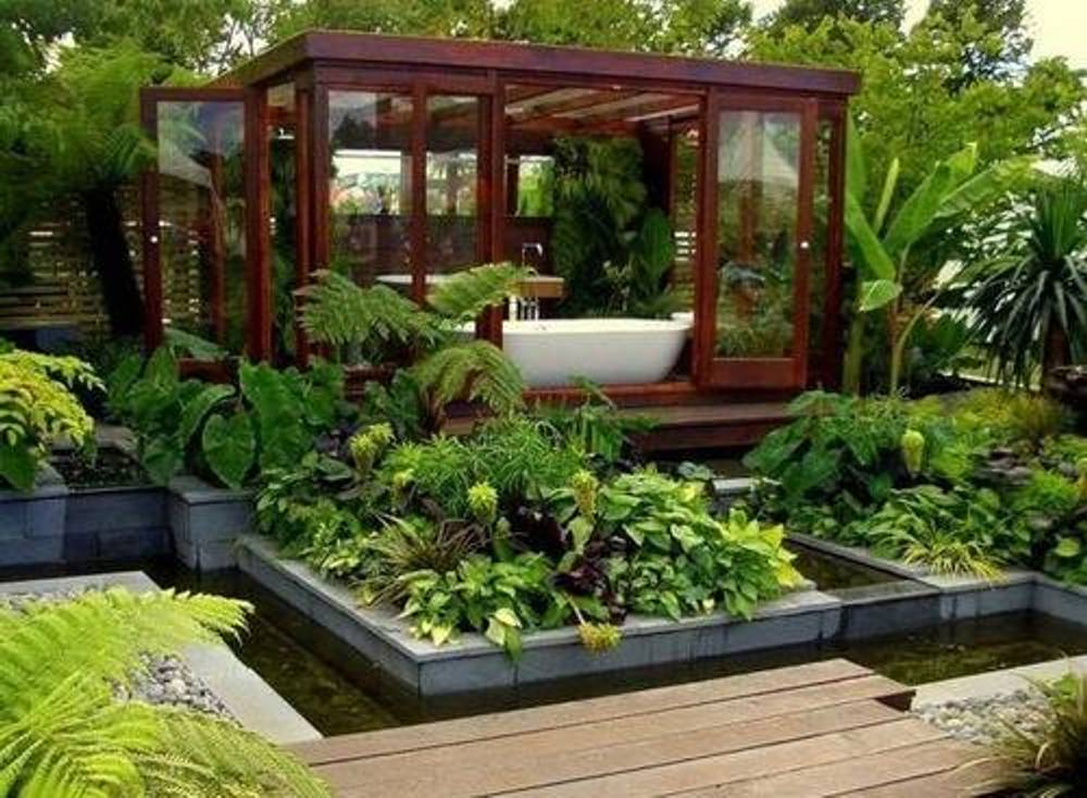 Kitchen Garden Design Ideas Video And Photos