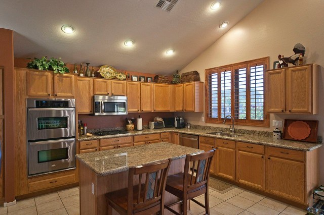Kitchen Modern Recessed Lights Also L Shaped Kitchen With