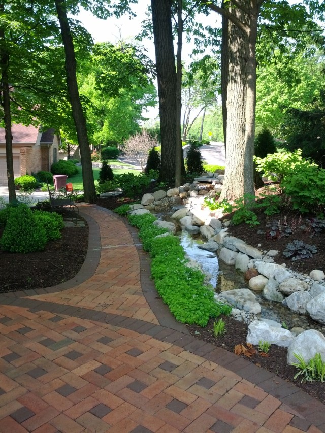 Landscaping And Paver Walkways Paver Patio Outdoor