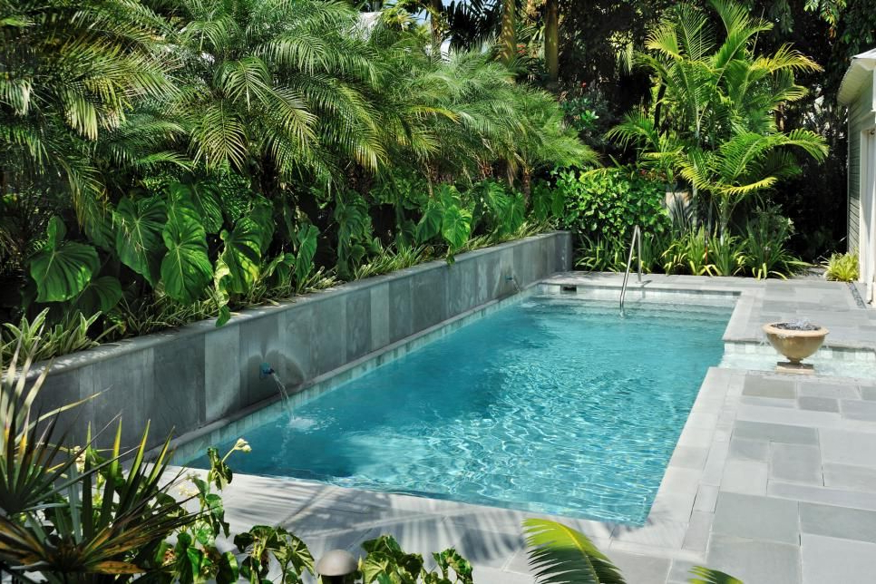 Lap Pools For Narrow Yards Landscaping Ideas And