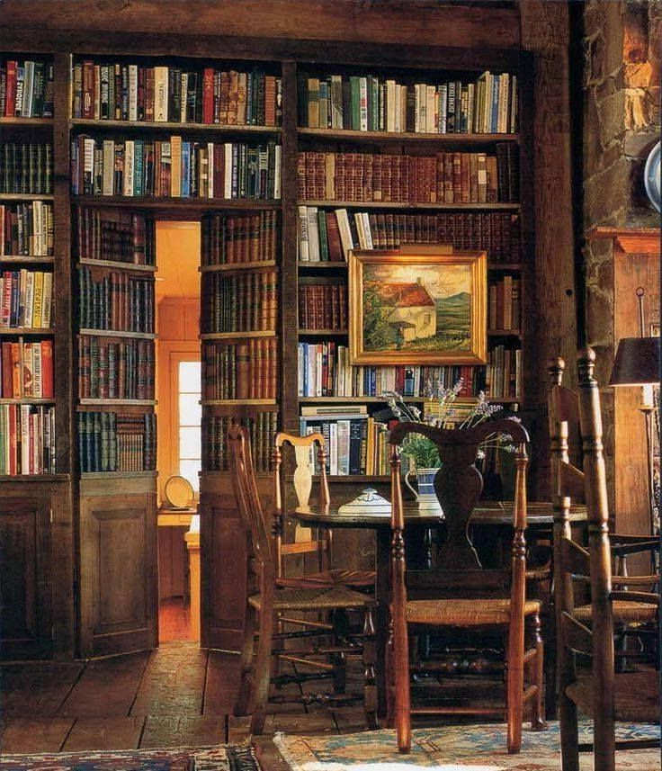 Library With A Secret Room Home Libraries Secret Rooms