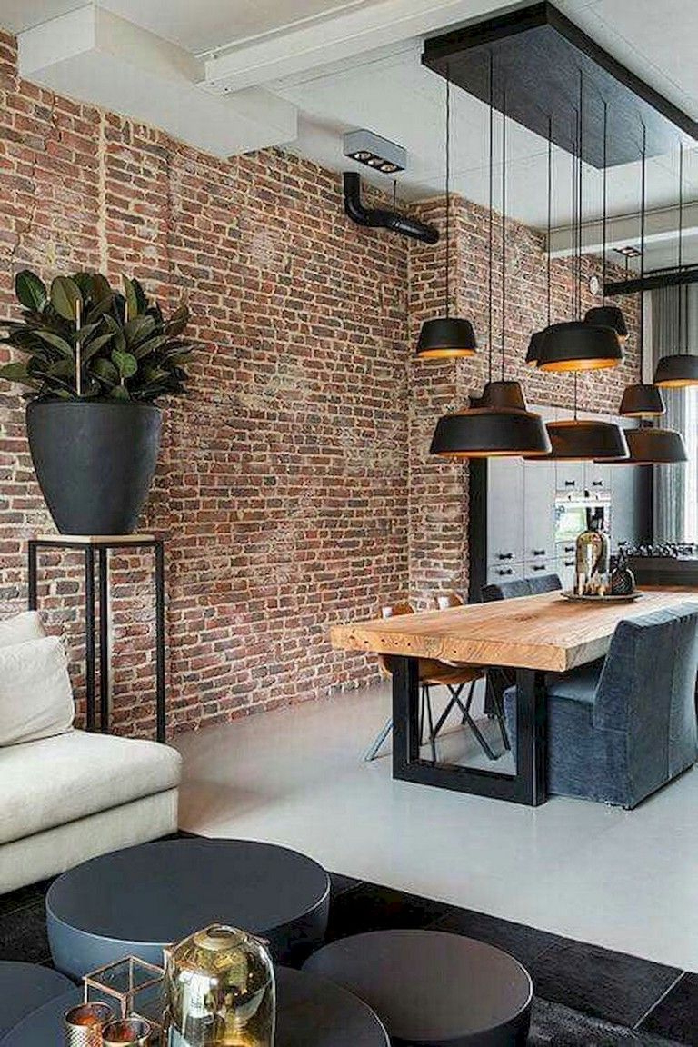 Lifely Design 70 Fire Brick Wall For Home Interior Ideas