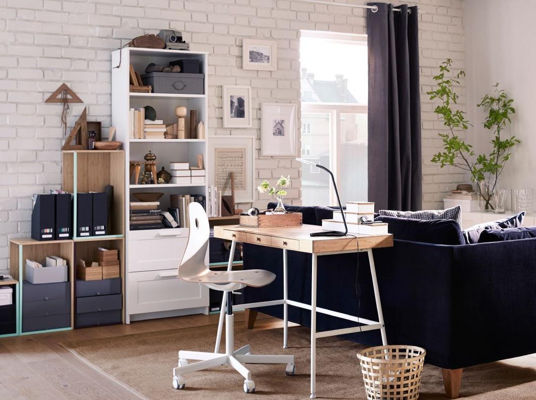 Lillsen Bureau Bamboe 102x49 Cm Ikea Home Office
