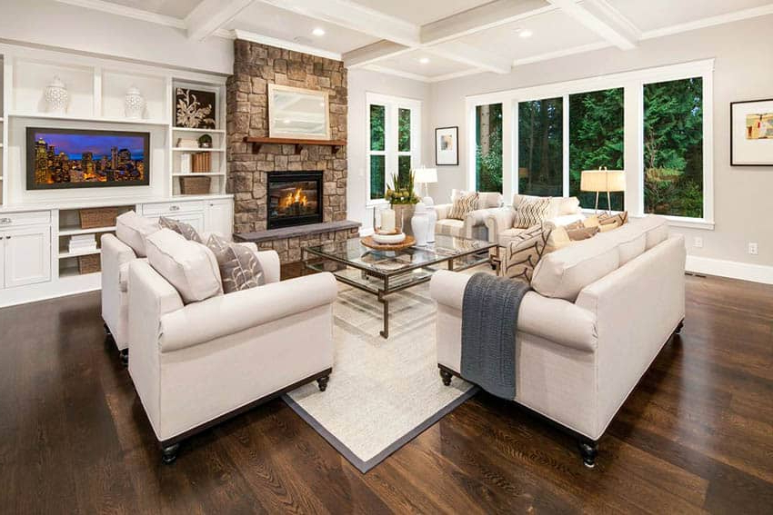 Living Room Flooring Ideas Top Interior Designs