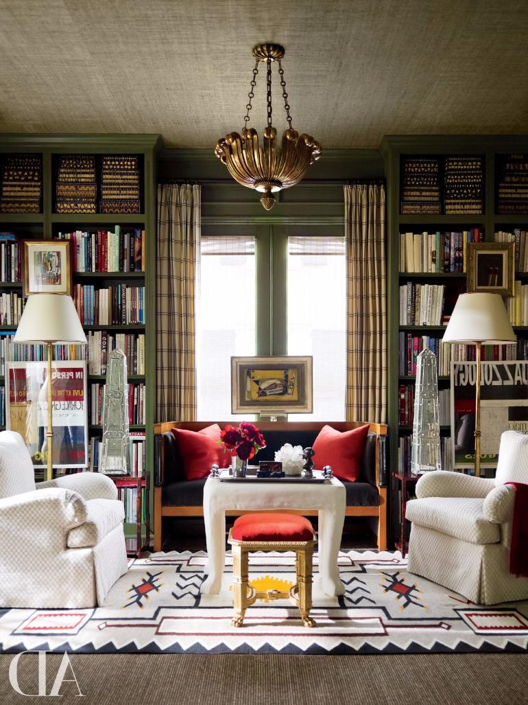 Living Room Ideas Vintage Home Libraries