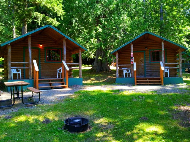 Log Cabin Resort At Olympic National Park And Forest Log