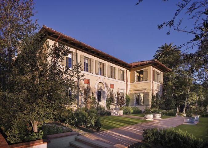 Los Angeles California Ferguson Shamamian Mansions