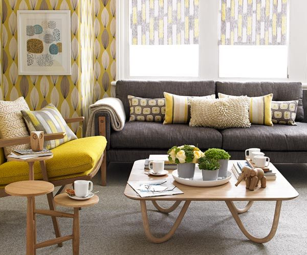 Love The Color Schemes In This Room Love The Cozy