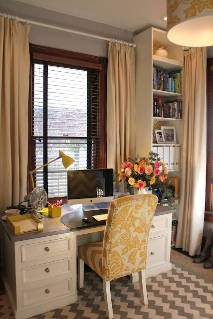 Love This Office Space Desk In Front Of Window Hmmm