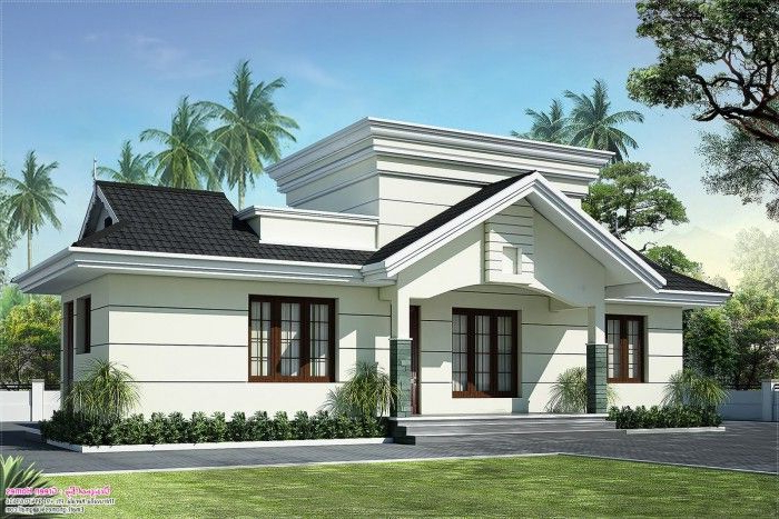 Low Cost House In Kerala With Plan Photos 991 Sq Ft