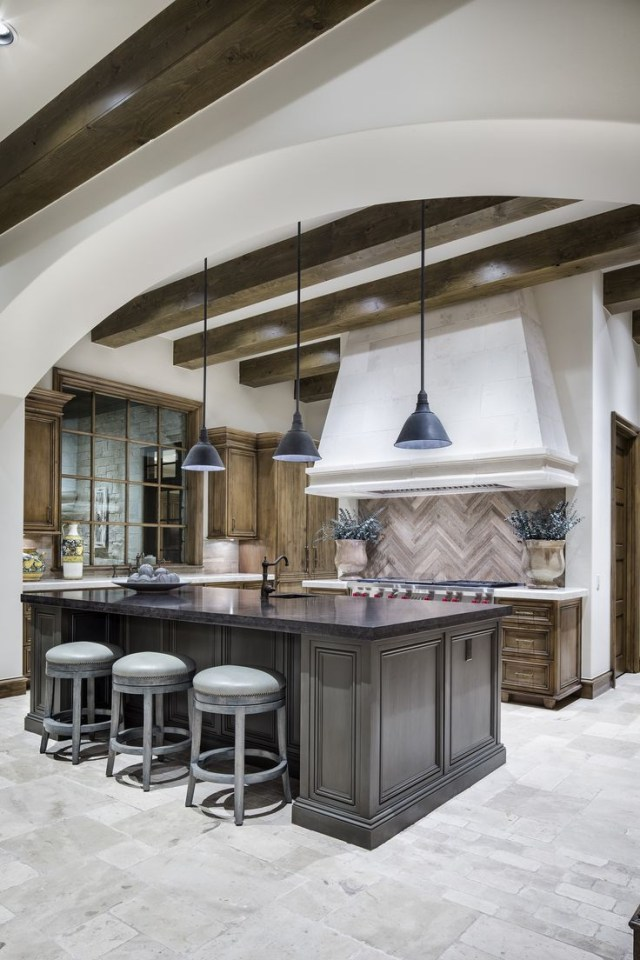 Luxurious French Country Modern Kitchen Design Build