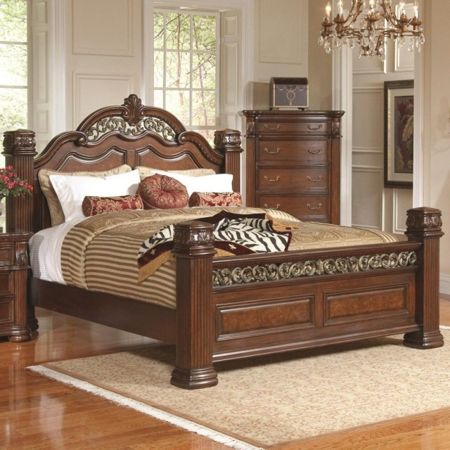 Luxury King Size Bed Designs With Drawers And Elegant Bed