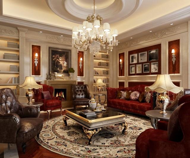 Luxury Living Rooms Luxury Living Room 3d Model