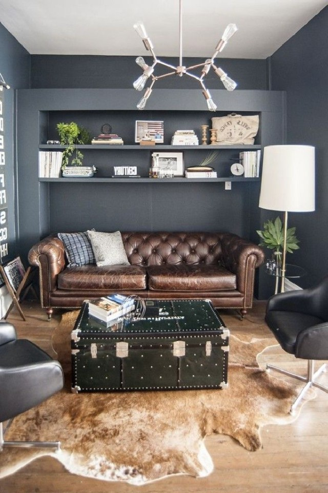 Masculine Office Decor Ideas That Can Inspire Your Best