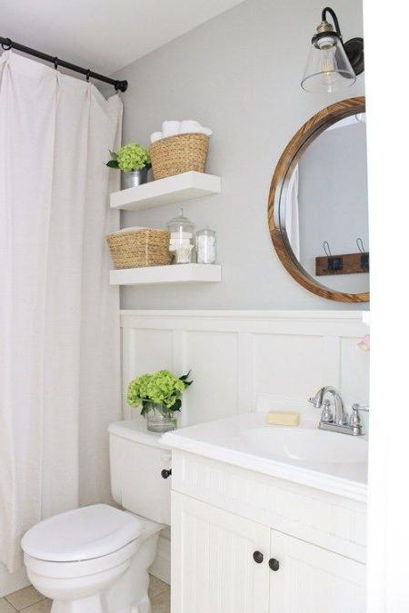 Master Bathroom Makeover Reveal Modern Farmhouse