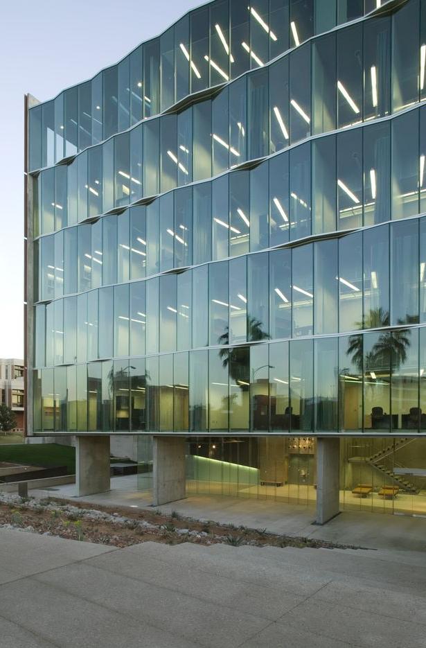 Meinel Optical Sciences Building Glass Building Facade