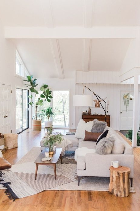 Mid Century Modern Living Room Enlivening Your Home With