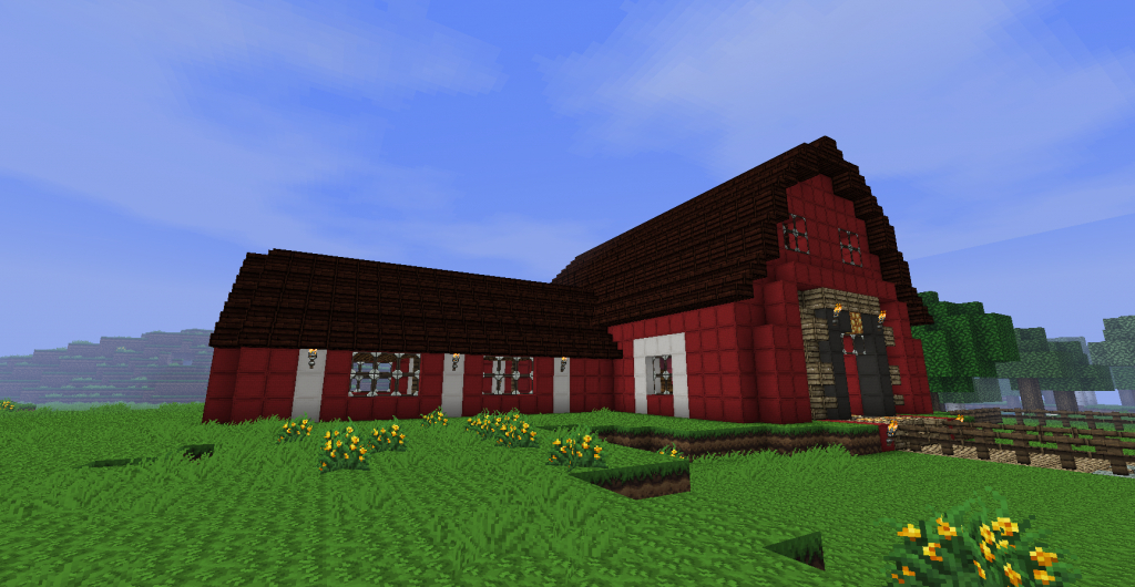 Minecraft Barn Google Search Minecraft Houses